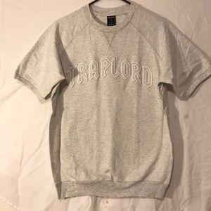 TRAPLORD Men's small knit s/s Reglan crest